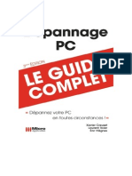Guide Micro Application  Dépannage Pc