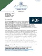 GOP Homeland Security Committee letter to President Biden on border crisis