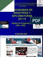 Maestria PLAN PERU 2040