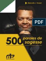 500paroles de Sagesse Fin