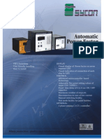 Automatic Power Factor Correction Relay Sycon 5500