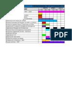 CRONOGRAMA DE ACTIVIDADES CALIDAD 2011