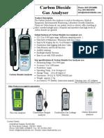Carbon Dioxide Gas Analyser