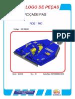 Catalogo de peças da roçadeira de correia RO-17000