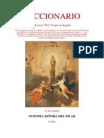 12 de Octubre. Nuestra Señora la Virgen Del Pilar. Leccionario Misal 1962