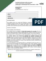 Ap1 Pe1 Plataforma 2021.2 Museu Da Pessoa