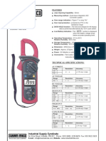 Digital Clamp Meter KM 2718