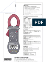 Digital Clamp Meter KM 999