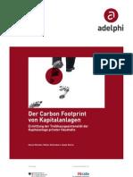 Der Carbon Footprint von Kapitalanlagen