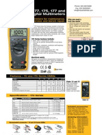Digital Multi Meter FLUKE 175 177 179