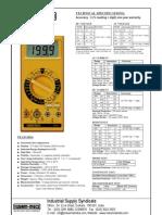 Digital Multi Meter KM 603