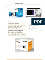 Digital Storage Oscilloscope DSO 25Mhz 40MhZ 60Mhz