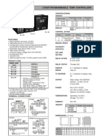 Digital Temperature Controller Selectron DTC503 203 303