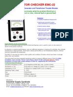 EMC 22 Electric Motor Checker