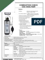 Flue Gas Oxygen Analyser KM 5410