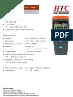 Flux Meter EMF 522