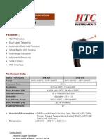 High Temperature Infrared Thermometer IRX68 IRX69