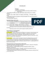 IntrotoPsychologyclassnotes