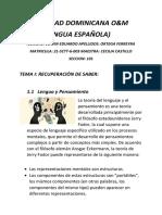 Lengua Española o&m 2