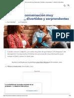 43 Temas de Conversación Muy Interesantes, Divertidos y Sorprendentes