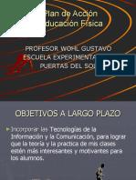 Plan de Acción Lic.Wohl, Gustavo