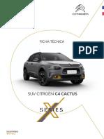 Citroën C4 Cactus X-Series Ficha Técnica