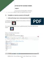 UTLISATION DE PDF XCHANGE VIEWER