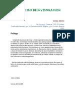 Carlos Sabino-El Proceso de Investigacion