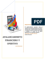 MAPA MENTAL APALANCAMINETO FINANCIERO Y OPERTIVO