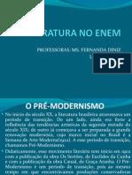 Slide - Pre-modernismo e Modernismo 16-10-10 - Literarte