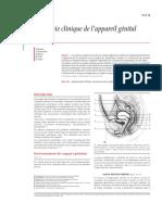 Anatomie Clinique de l'Appareil Génital Féminin