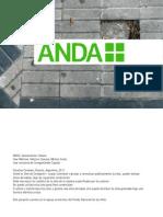ANDA. Tutorial para la construcción de baldosas calcáreas
