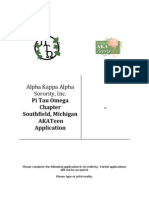AKATeen Organization Application
