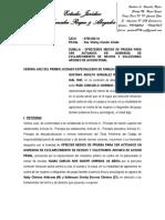 ESCRITO - OFRECEMOS MEDIOS DE PRUEBA Y OTROS