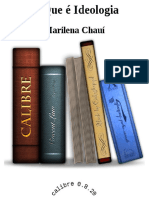 O Que e Ideologia - Marilena Chaui