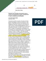 RANCIÈRE 1998 13_12_1998 Folha de S.Paulo -  IMPORTNTE - O novo endereço da ficção -