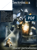 Hacer periodismo en el nuevo ecosistema de la información - Tinta electrónica - Nº 1