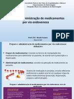 Preparo e Administração de Medicamentos EV