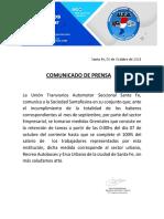 Comunicado de Prensa (2)