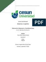 U2A1 Metodos de valoracion