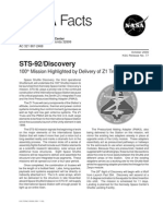 Nasa Facts STS-92