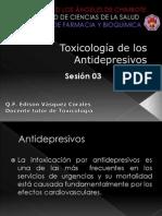 Toxicologia de Los Antidepresivos Sesion 03