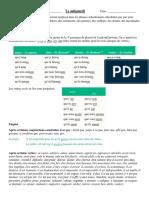 Le subjonctif (D2L)