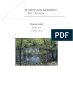 Wetland Hydrologic Assessment