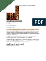 biografia andromeda