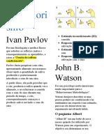 Psicologia Analitica Comportamental resumo