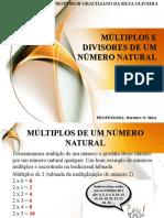 AULA 02 - MÚLTIPLOS E DIVISORES DE UM NÚMERO NATURAL