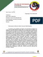 Solicitud de Rendicion Administracion 2005-2009