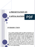 CAPITAL RATIONING 03