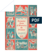 Histoire de France 1 Premier Livre d'Histoire de France 10e-9e Lacourt-Goze
